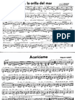 Partituras Canciones Viejas (Boleros, Mambos, Tangos, Sones)(2)
