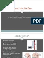 Cáncer de Esófago.pptx