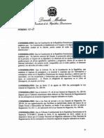Decreto 327-13
