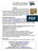 Knox December 1, 2013 Service Bulletin