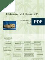 Obtención del Uranio 235 Contreras Amezquita