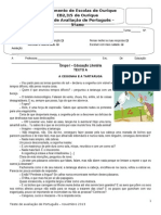 Teste 2 - 5º Fábula4