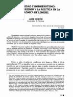 Comunidad y homoerotismo la transgresión y la política en la crónica de Lemebel