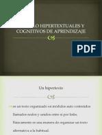 Modulo Hipertextuales y Cognitivos de Aprendizaje