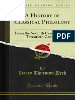 A History of Classical Philology 1000151831