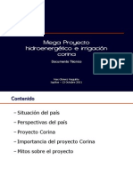 Proyecto Corina - Presentacion en CIP Loreto - PPT