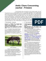 13-Ten Prophetic Clues Concerning Issachar