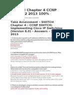 Switch Exam 4 Ccnp 6