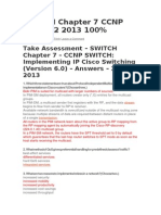 Switch Exam 7 Ccnp 6