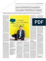 Mi experiencia en WISE Summit 2013- Qatar
