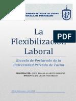 FLEXIBILIZACIÓN DEL DERECHO DEL TRABAJO PERUANO