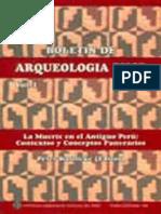 Boletin de Arqueologia PUCP No. 01 (1997) - Número 01. La muerte en el antiguo Perú contextos y conceptos funerarios