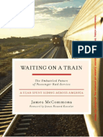 Waiting on a Train by James McCommons [Book Preview]