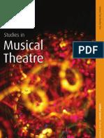 Studies in Musical Theatre