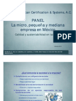 Panel Pymes Unam