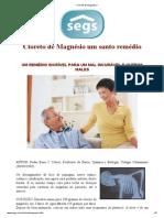 _ Cloreto de Magnésio _