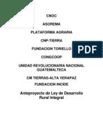 Ley Desarrollo Rural