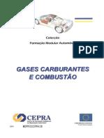 Gases carburantes e combustão
