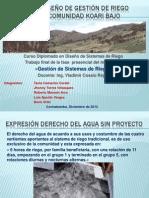 PROPUESTA DISEÑO DE GESTIÓN DE RIEGO PRESURIZADO COMUNIDAD