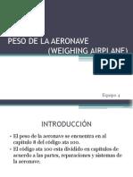 PESADO DE LA AERONAVE.pptx