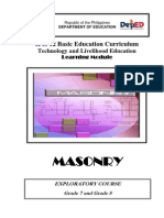 Masonry Learning Module