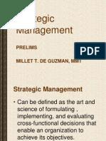 I. Strategic Management
