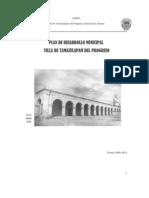 Plan de Desarrollo Villa de Tamazulapam Del Progreso 2008-2011