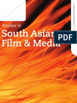 Studies in South Asian Film and Media: Volume: 1 | Issue: 1