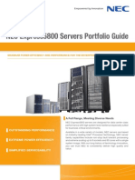 NEC Express5800 Servers Portfolio Guide