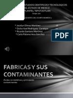 Fabricas y Sus Contaminantes