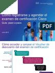 Guia de Registro Para La Examen de Certificacion
