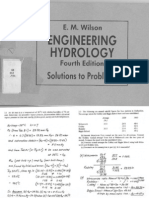 Hydrology Engineering Wilson