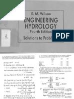 Hydrology Engineering Wilson