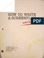 How to Write a Screenplay Workbook Final
