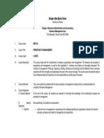 Principles of Management 07