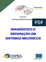 Diagnóstico e reparação em sistemas mecânicos