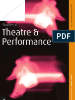 Studies in Theatre and Performance