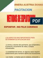 Capacitacion Metodos de Explotacion