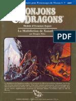 Dd x3 La Malediction de Xanathon