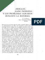 T. G. Powell, los liberales, el campesino indígena y los problemas agrarios durante la reforma