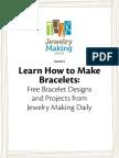 Free eBook Bracelet Making Projects