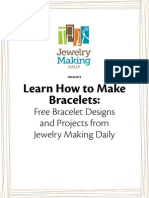 Free eBook Bracelet Making Projects