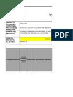 Formato Planeacion Pedagogica Proyecto Formativo Gestion Financiera y de Tesoreria