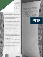 pierre bourdieu - questões de sociologia