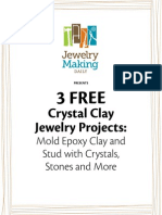Epoxy Clay jewelry making