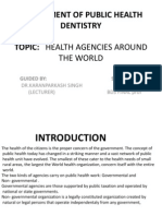 Department of Public Health Dentistry