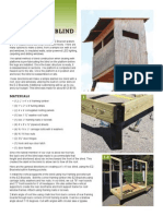 4x6 Hunting Blind Instructions