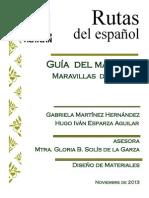 Guía del maestro y libro del alumno, material didáctico para una clase de español para extranjeros