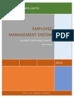 DOCUMENTATION of Employee Management System