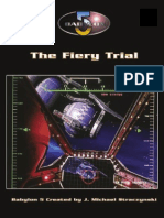 D20 - Babylon 5 RPG - 1st Edition - Adventure - The Fiery Trial